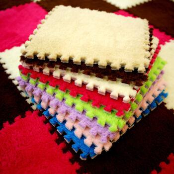スペルト・マット玄関マットエヴァンゲリオンの泡寝室の座敷畳畳の床敷きを10枚セットにして、色を付注します。30*30(厚さ1 cm)